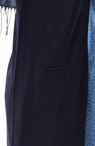 Trikot Weste mit Tasche 4120-02 Dunkel Blau 4120-02