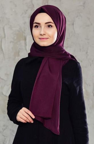 Plain Crepe Shawl 65654-06 Purple 65654-06