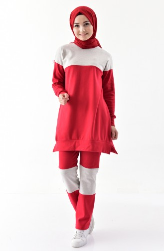 Garnish Tracksuit Suit 10271-01 Red 10271-01