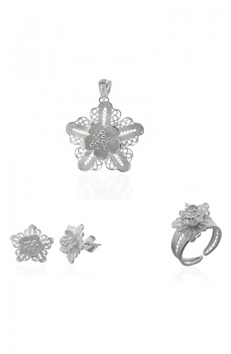 Silver Gray Jewelry 101381005