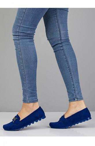 Saxon blue Woman Flat Shoe 2021-10
