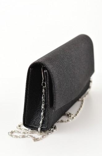 Black Portfolio Hand Bag 0474-02