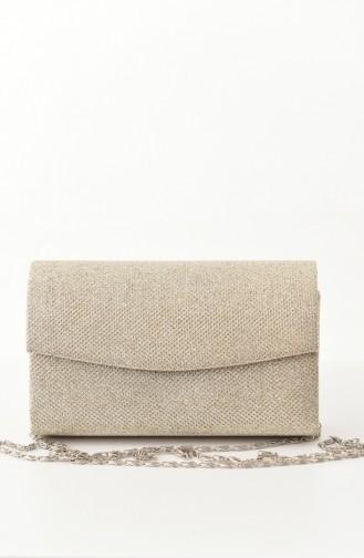 Gold Colour Portfolio Hand Bag 0474-03