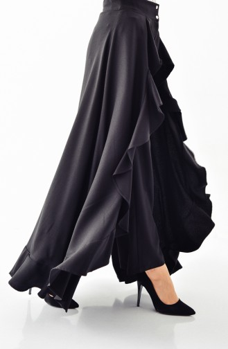BURUN Flywheel Pants Skirt 31229-01 Black 31229-01