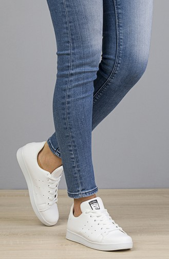 Women Sneakers 2019-05 White 2019-05