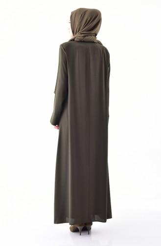 Khaki Abayas 0003-03