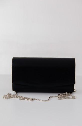Sac de Soirée Pour Femme 0474-04 Noir 0474-04