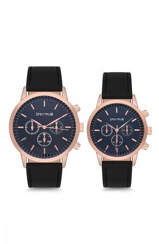 Spectrum Kombination Uhren MWSP350019 Schwarz 350019
