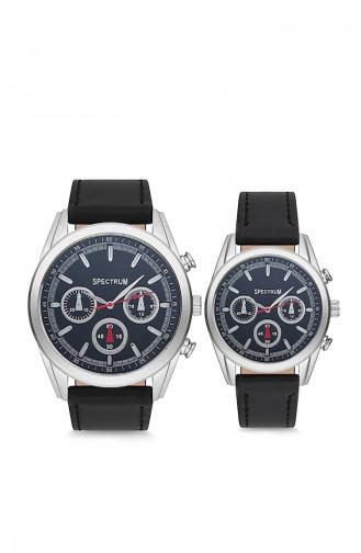 Spectrum Kombination Uhren MWSP350027 Schwarz 350027