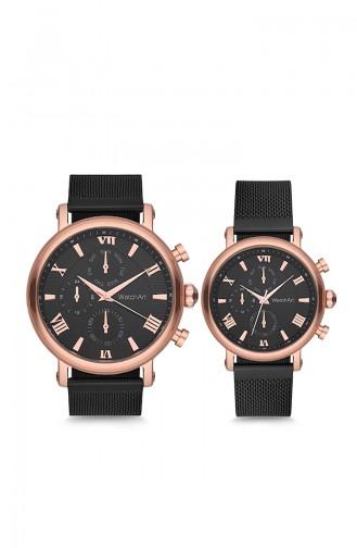 WatchArt Couple Watches Watch MWWA350046 Black 350046