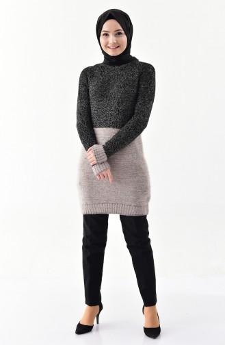 Knitwear Sweater 8501-05 Gray Navy Blue 8501-06