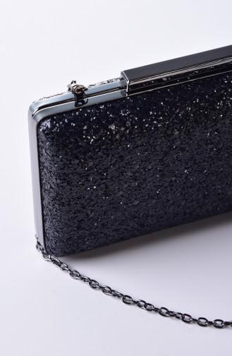 Black Portfolio Hand Bag 0250-02