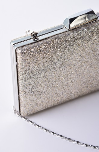 حقيبة يد لون ذهبي 0274-02