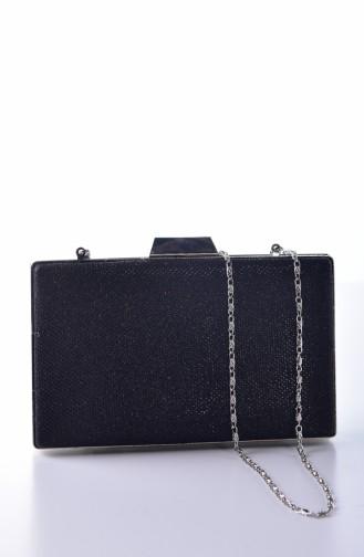 Black Portfolio Hand Bag 0274-04