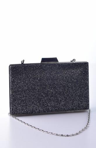 Damen Sand Silbirg Abendkleid Tasche 0274-05 Platin 0274-05