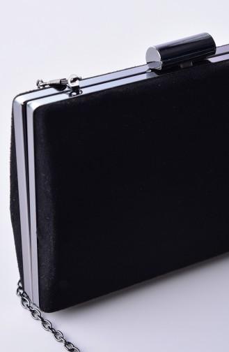 Black Portfolio Hand Bag 0278-01