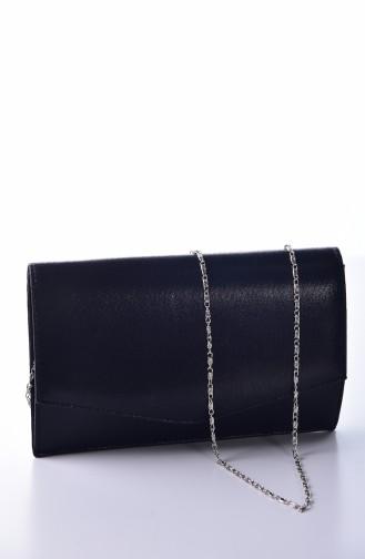 Black Portfolio Hand Bag 0460-03