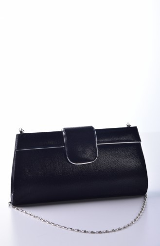 Dame Abendkleid Tasche 0494-03 Schwarz 0494-03