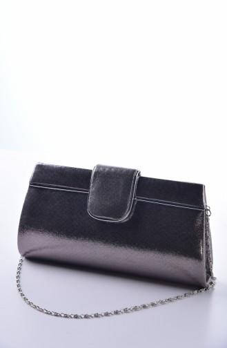Dame Abendkleid Tasche 0494-04 Platin 0494-04