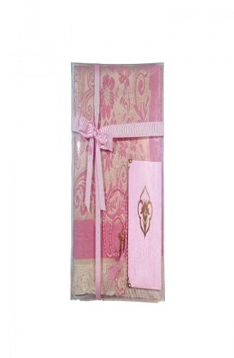 Prayer Rug Beads Mus´haf 3pcs Set  4000-02 Pink 4000-02