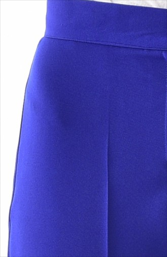 Buttoned Straight Leg Pants 1102-09 Saks 1102-09