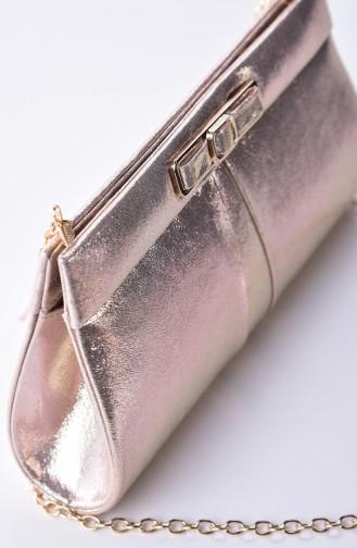 Dame Abendkleid Tasche 0416-02 Gold 0416-02
