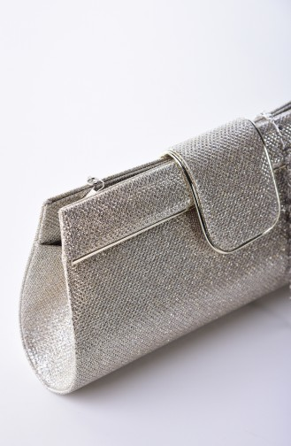 حقيبة يد لون ذهبي 0494-04