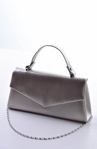 Light Gold Portfolio Hand Bag 0504-03