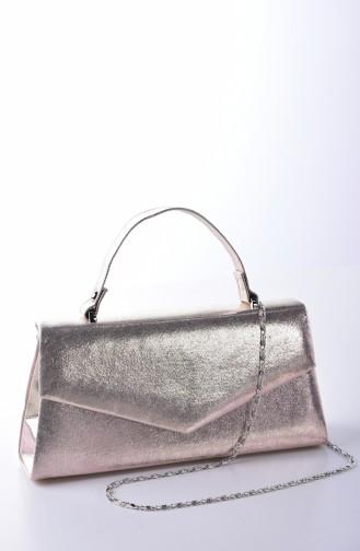 Gold Colour Portfolio Hand Bag 0504-04