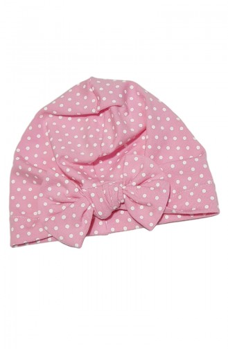 Bonnet Noeud BCB012 Rose 012