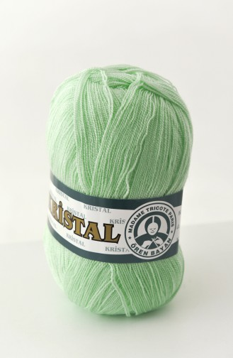 Textiles Women´s Crystal Yarn 0269-090 light Green 0269-090