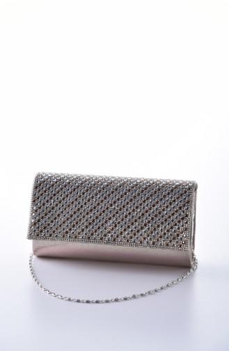 Gold Colour Portfolio Hand Bag 0426-01
