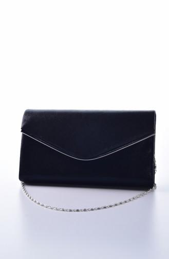 Black Portfolio Hand Bag 0458-02