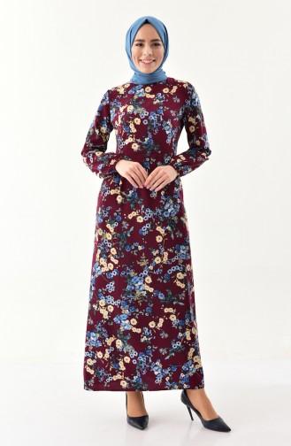 8d7d70745aa43 Mürdüm Tesettür Elbise Modelleri ve Fiyatları - Tesettür Giyim ...