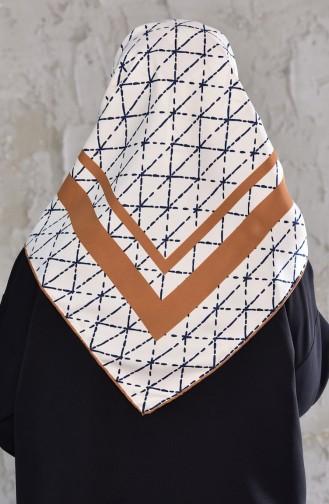 Patterned Rayon Shawl 901436-11 Cinnamon 901436-11