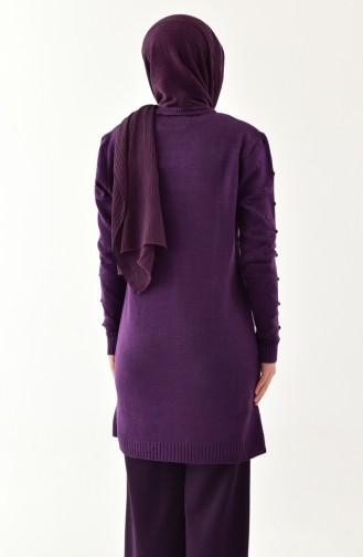 Purple Sweater 2117-02