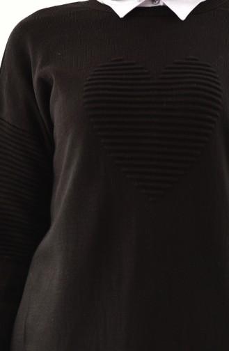 Knitwear Sweater 9006-01 Black 9006-01