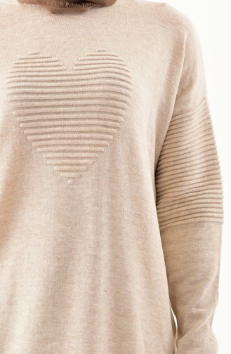 Knitwear Sweater 9006-03 Beige 9006-03
