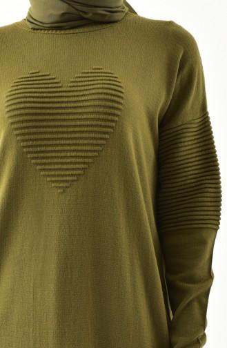 Knitwear Sweater 9006-04 Khaki 9006-04