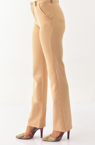 Pockets Trousers 2330-01 Beige 2330-01
