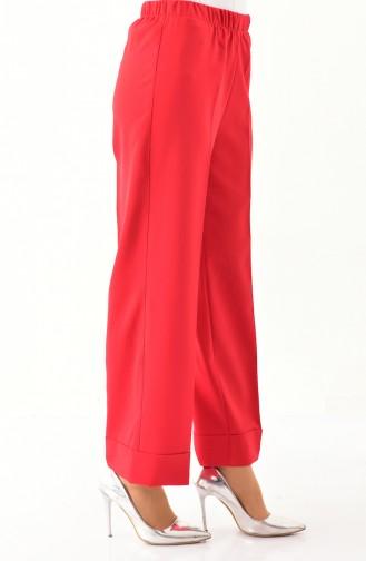 Pantalon 6666-02 Rouge 6666-02