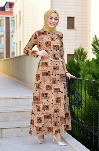 Brown Dress 9035-02