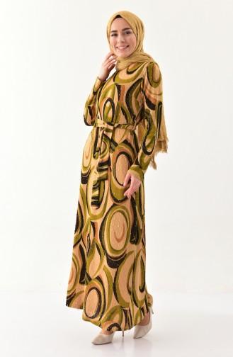 Khaki Dress 9155-02