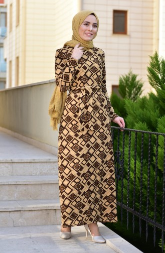 Brown Dress 9150-03