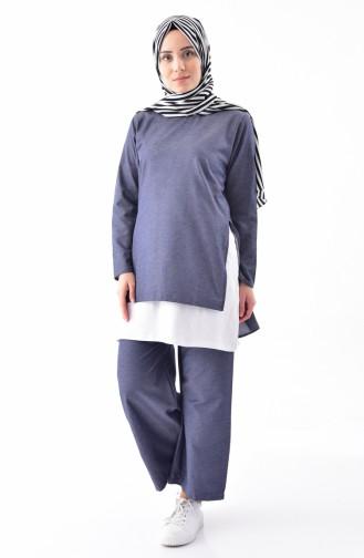 iLMEK 3 Pcs Suit 5227-02 Navy Blue 5227-02