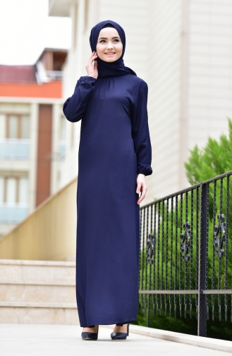 Navy Blue Dress 1919-05