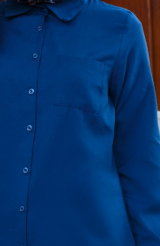 Light Navy Blue Tunic 8202-12