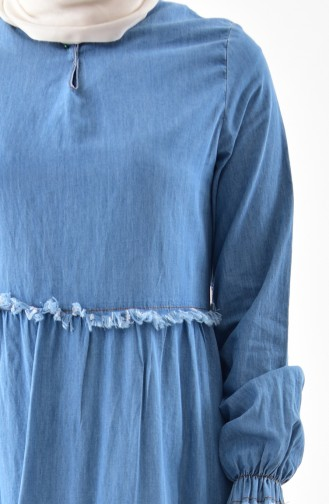 Kot Elbise 6121-01 Kot Mavi