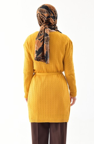 Gilet Tricot 9008-01 Moutarde 9008-01
