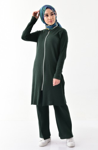 Cardigan Pants Double Team 3300-12 Emerald Green 3300-12